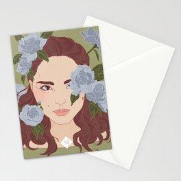 portrait - Natalie Portman Stationery Cards