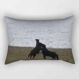 Majestic Horses Rectangular Pillow