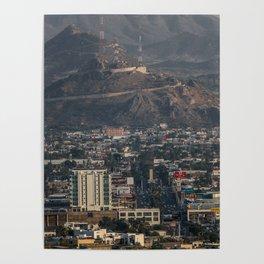 Hermosillo, Sonora, Mexico, City Poster