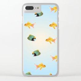 Fish Skool Clear iPhone Case