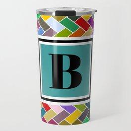 B Monogram Travel Mug