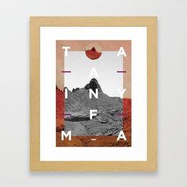 Timanfaya2 Framed Art Print