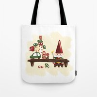 elf Tote Bags featuring Elf by Erica_art