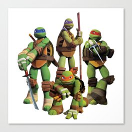 Turtles Konkurranse Canvas Print