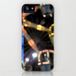 Seaside Boardwalk Lights iPhone Case