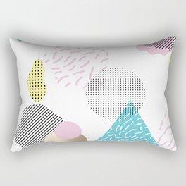 Simply Metallic Memphis Rectangular Pillow