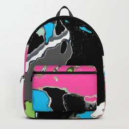 Painted cow Backpack