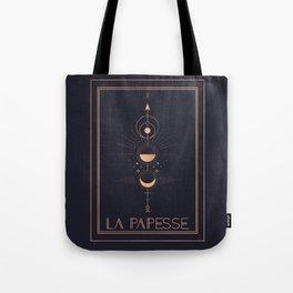 La Papesse or The High Priestess Tarot Tote Bag
