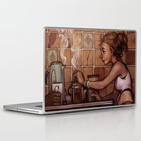 cafe Laptop & iPad Skins featuring Cafe Presse by loish
