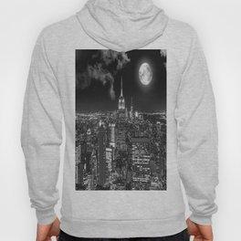 New York Under the Moon Hoody