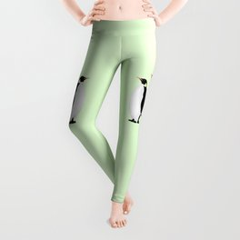 Penguin On A Mobile Device Leggings
