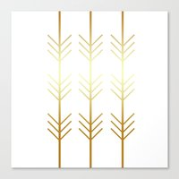 stay gold Canvas Prints featuring stay gold by Reckless Crush