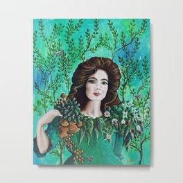 Gaia by Mary Bottom Metal Print