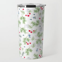 Pine and Berry Travel Mug