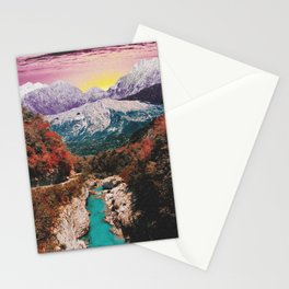 River of wishes Stationery Cards