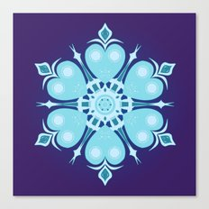 Heartflake Canvas Print