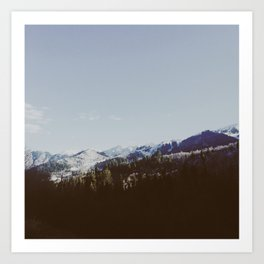 Winter in the Uintas Art Print