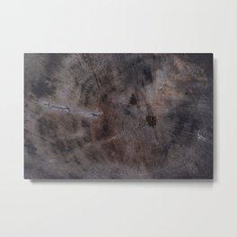The_BLACK_WOOD Metal Print