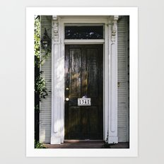Charleston Doorstep III Art Print