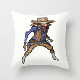 Steppinwolf  Throw Pillow