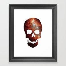 Gallexy Skull Framed Art Print