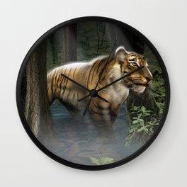 Nightly Stroll Wall Clock