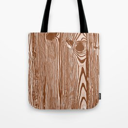 c13D Woodgrain Tote Bag