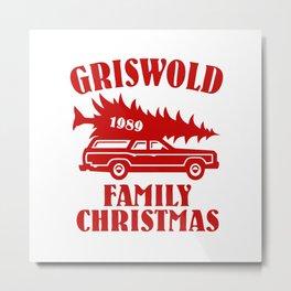 griswold christmas Metal Print