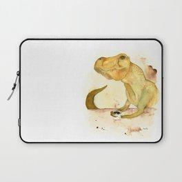 T-Rex Morning Coffee Laptop Sleeve