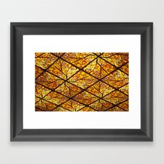 Ceiling Collage  Framed Art Print