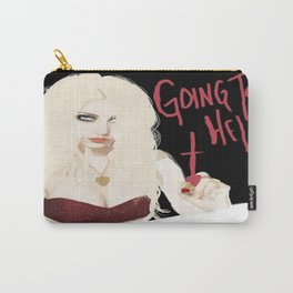 Taylor Momsen Going to hell. Carry-All Pouch