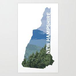 State of New Hampshire - Wildcat Mountain Art Print