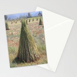 Harvested Sesame Crop Stationery Cards