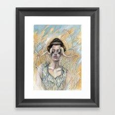 Horns Framed Art Print