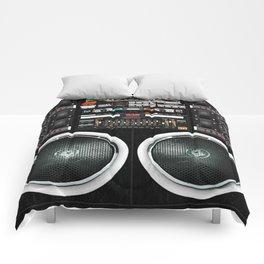 Boombox Ghetto J1 Comforters