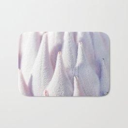 Details of velvety flower Bath Mat