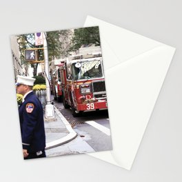 The Fire Dept of New York at 30 Rock Stationery Cards