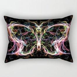 Radiant lighting butterfly Rectangular Pillow
