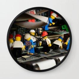 Maintenance Wall Clock