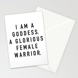 Pawnee Goddess Stationery Cards