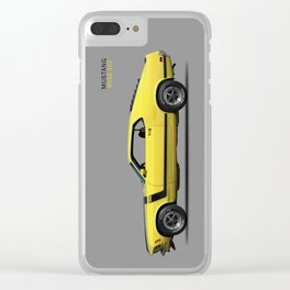 Mustang Boss 302 Clear iPhone Case