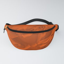 Bloomed Rose Warm Orange Fanny Pack
