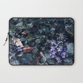 Proud Little Purple Flowers Laptop Sleeve