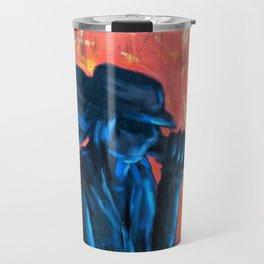 Blues Man Travel Mug