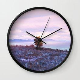 Pastel vibes 76 Wall Clock