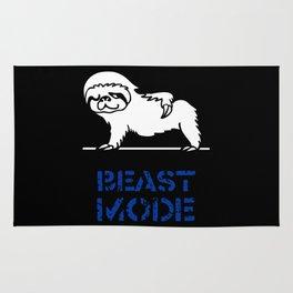 Beast Mode Sloth Rug