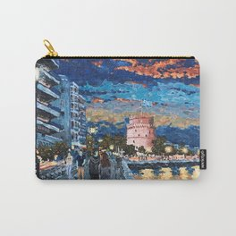 Greece: Thessaloniki In Memory Carry-All Pouch