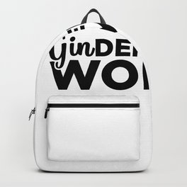 Gin Woman | Alcohol Party Tonic Cocktail Gifts Backpack