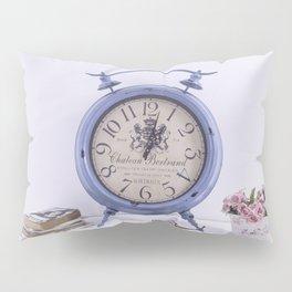 Bodegón de reloj vintage para el hogar Pillow Sham