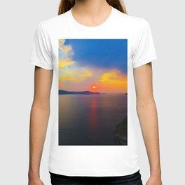 Fira,Sunset T-shirt